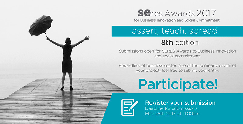 Submissions are now open for the 8th SERES Innovation and Social Commitment Awards