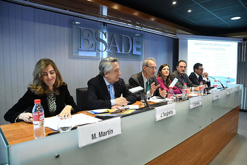 Atlantic Copper, KPMG, Lilly and NH Hotel Group agree at ESADE on the importance of transferring an ethical culture throughout its value chain