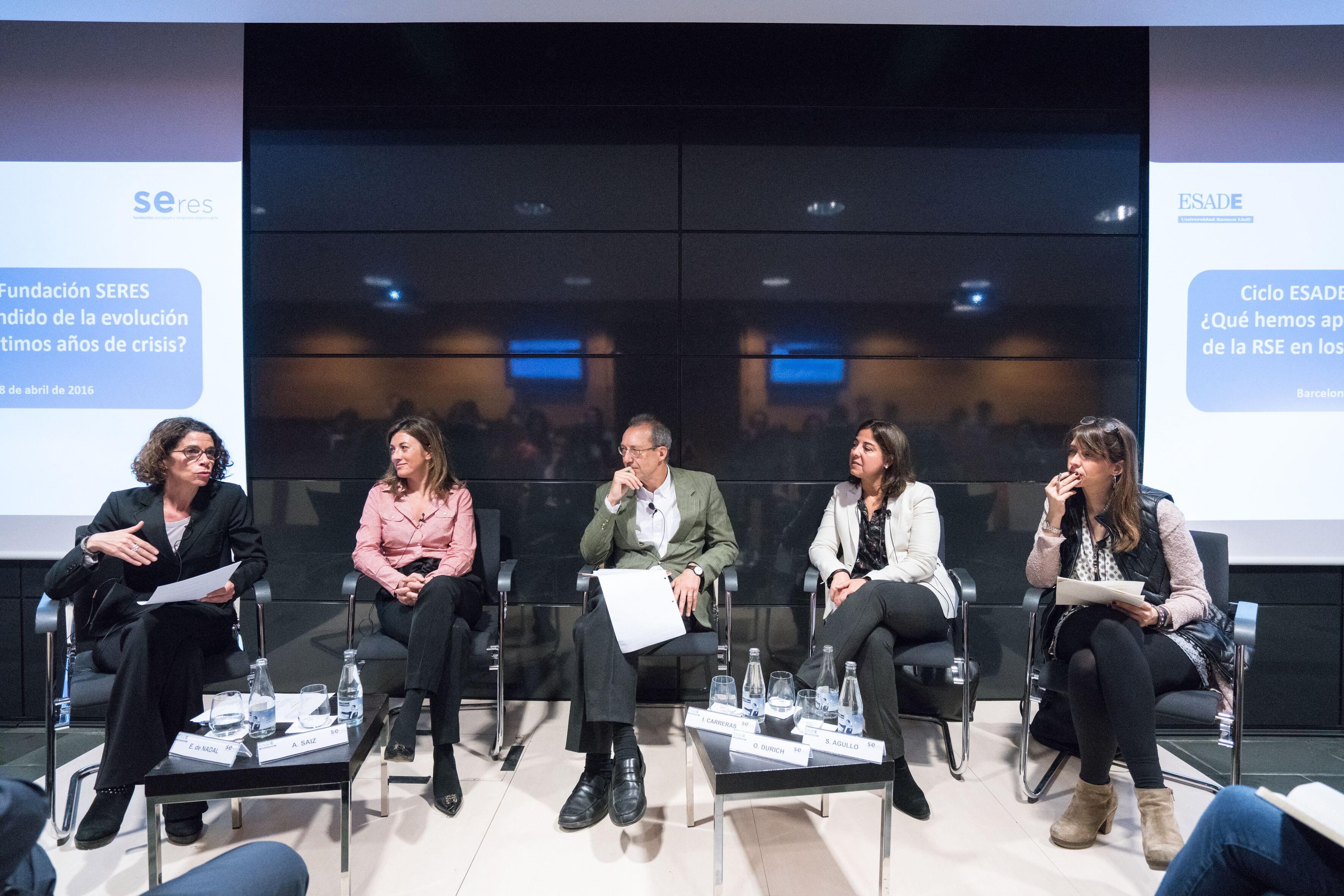Ciclo de conferencias Fundación SERES-ESADE