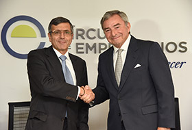 Acuerdo de colaboración Fundación SERES y Círculo de Empresarios