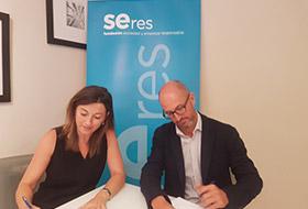 Acuerdo de colaboración Fundación SERES y Ship2B