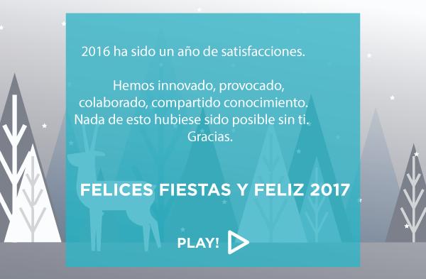 ¡Felices fiestas y Feliz 2017!