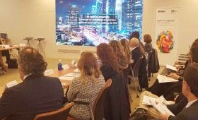 Presentación V Informe del impacto social a las empresas
