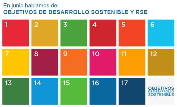 En junio hablamos de: Objetivos de Desarrollo Sostenible y RSE