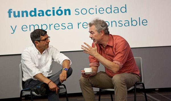 """""""Cuando haces algo por la sociedad, redunda en tu propio beneficio"""" Jacques Berger y Francisco Román, director general de Action Tank y presidente de la Fundación SERES, explican cómo la solidaridad puede ser también rentable para la empresa."""