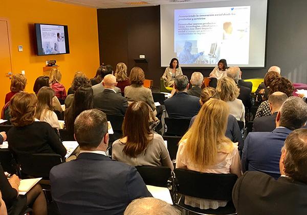Presentación en Barcelona del informe La empresa ante los nuevos retos sociales