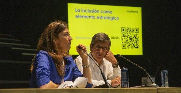 Francisco Román y Ana Sainz, presidente y directora general de Fundación SERES, participaron en #MañanaEmpiezaHoy, evento organizado por Barrabés.biz e IFEMA, analizando el papel de la empresa en el impulso de la inclusión de los más desfavorecidos.