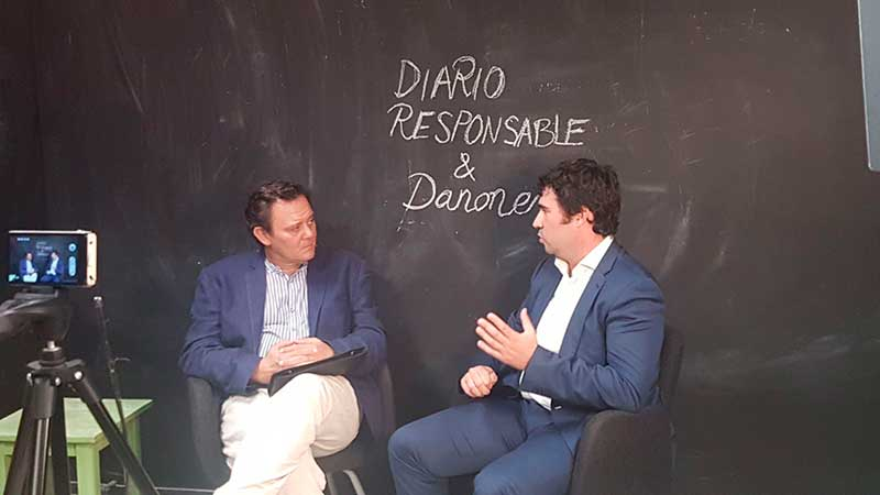 Entrevista con Borja Lafuente de Danone