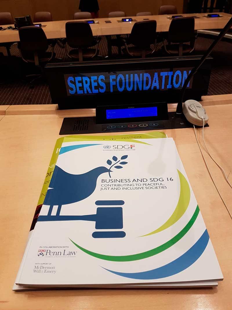Empresas y ODS 16. Contribuyendo a sociedades pacíficas, justas e inclusivas
