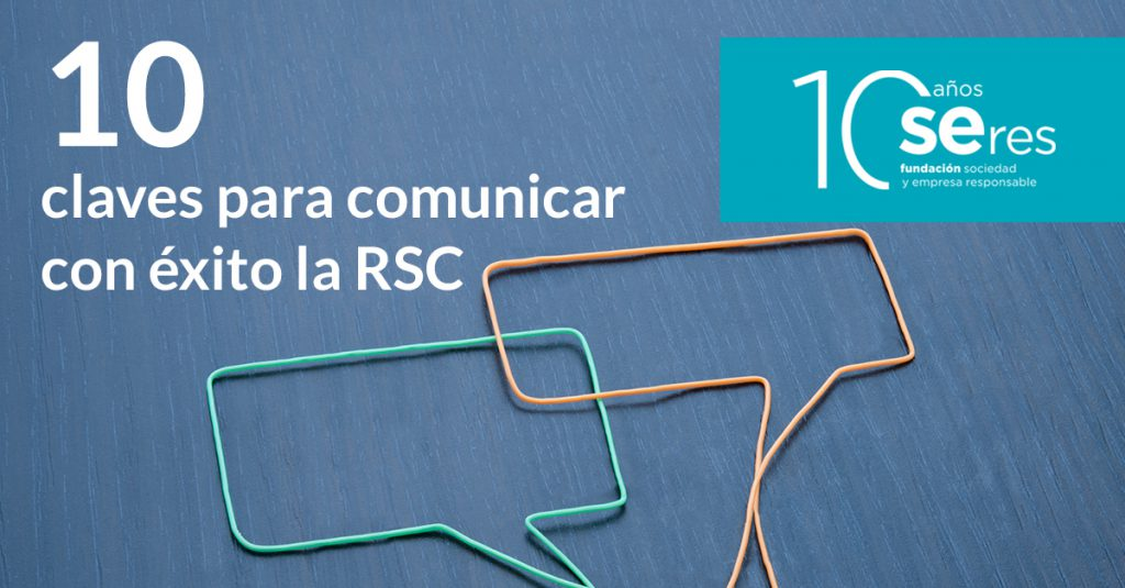 comunicar la rsc