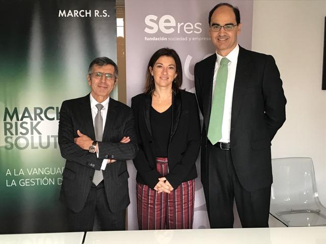 MARCH RISK SOLUTIONS se incorpora a la Fundación SERES para reforzar su compromiso social