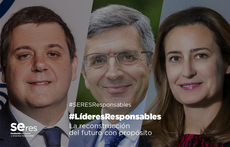 Cristina Henríquez de Luna y Juan Manuel Serrano ven las alianzas y la conectividad como claves para la reconstrucción con propósito
