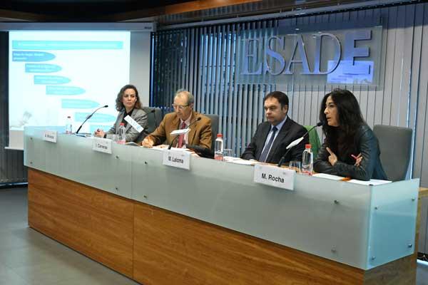 Repsol y EcoVadis coinciden en ESADE en la importancia de la formación y el análisis de riesgos para combatir la corrupción