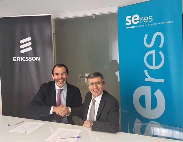 Ericsson se une a Fundación SERES para reforzar su compromiso social empresarial