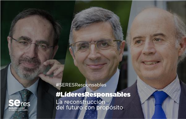 Valores y liderazgo colaborativo, claves para la reconstrucción según Andrés Romero y Santiago Aguirre en #LíderesResponsables