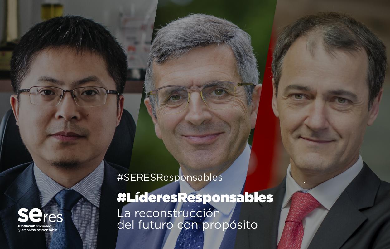 José Antonio López y Luis Maroto han apuntado la digitalización y las personas como las claves para la nueva normalidad en #LíderesResponsables