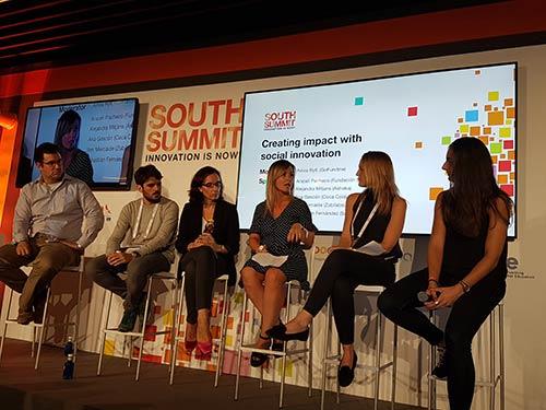 Excelente acogida a la innovación social en el ámbito empresarial y emprendedor en la última edición del South Summit