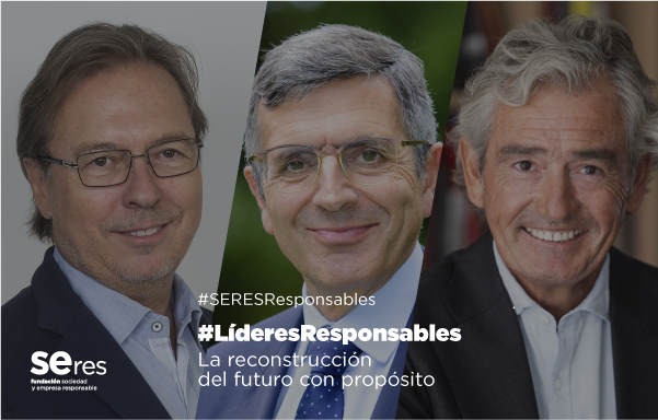 Estrategia de salud pública y tecnología, claves para la reconstrucción según Josep Santacreu y José María Pacheco en #LíderesResponsables