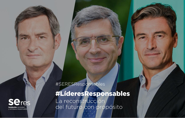 Federico Linares y Jaume Miquel ponen el acento en el liderazgo humanista y en una empresa con valores y sostenible como claves para la reconstrucción en #LíderesResponsables