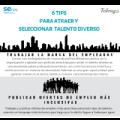6 consejos para la atracción de talento diverso