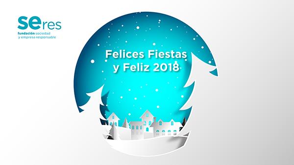 Os deseamos Felices Fiestas y Feliz 2018