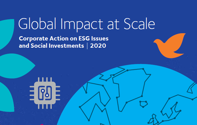Corporate Action on ESG Issues and Social Investments 2020
