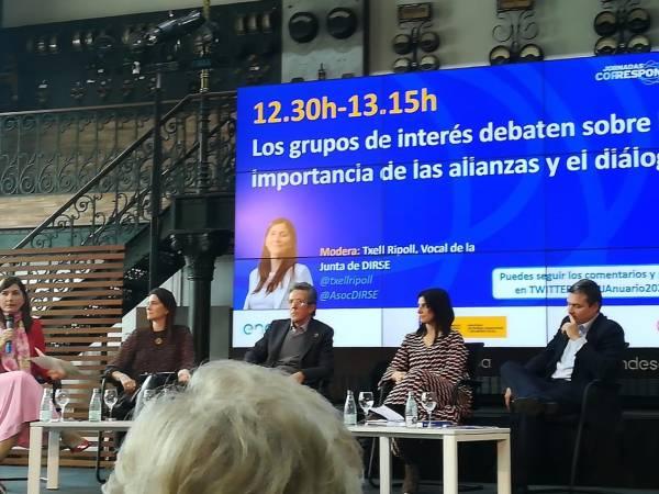 `Alianzas y diálogo con los grupos de interés. Lecciones aprendidas y retos de futuro´. Corresponsables Barcelona