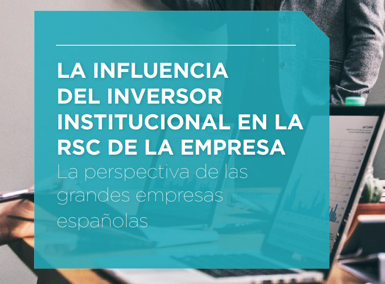 The influence of the institutional investor in the CSR of the Company