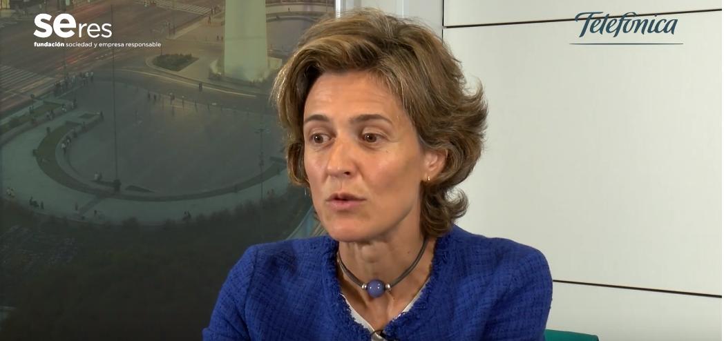 Entrevista a Arancha Díaz-LLadó, directora de innovación sostenible y diversidad de Telefónica