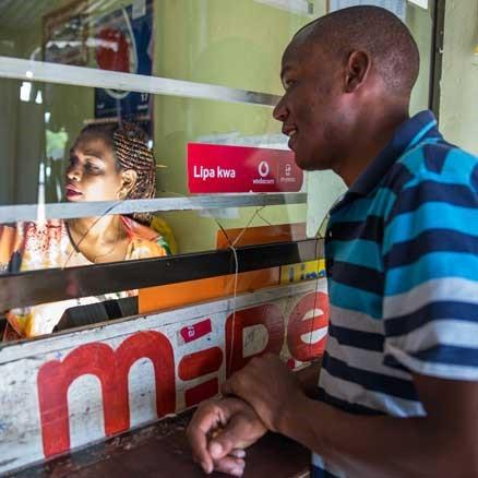 M-Pesa vodafone banca móvil